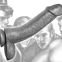 Tom of Finland Kake Cock 12 Inch Silicone Dildo - Fun and Kinky Sex Toys
