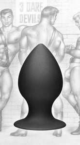 Tom of Finland Medium Silicone Anal Plug - Fun and Kinky Sex Toys