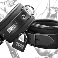 Tom of Finland Neoprene Ankle Cuffs - Fun and Kinky Sex Toys