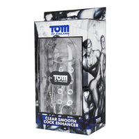 Tom of Finland Clear Smooth Cock Enhancer - Fun and Kinky Sex Toys
