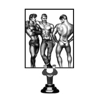 Tom of Finland 3 Piece Silicone Cock Ring Set - Fun and Kinky Sex Toys