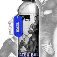 Tom of Finland Water Based Lube- 8 oz - Fun and Kinky Sex Toys