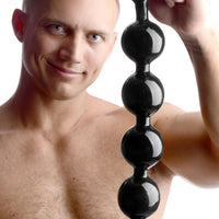 Black Baller Anal Beads - Fun and Kinky Sex Toys