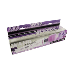 Wand Essentials 8 Speed 8 Mode Massager - Fun and Kinky Sex Toys