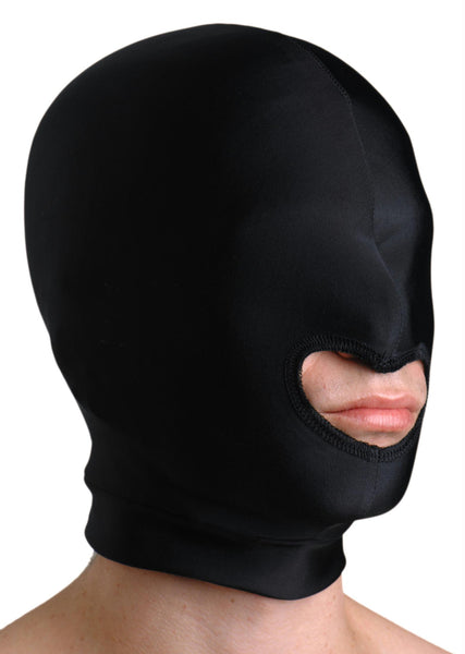 Premium Spandex Hood with Mouth Opening - Fun and Kinky Sex Toys