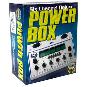 Zeus 6 Channel Deluxe Electrosex Power Box - Fun and Kinky Sex Toys