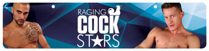 Raging Cockstars Display Sign - Fun and Kinky Sex Toys