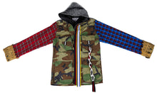 Load image into Gallery viewer, 333 Mixed Flannel Camoflauge Jacket