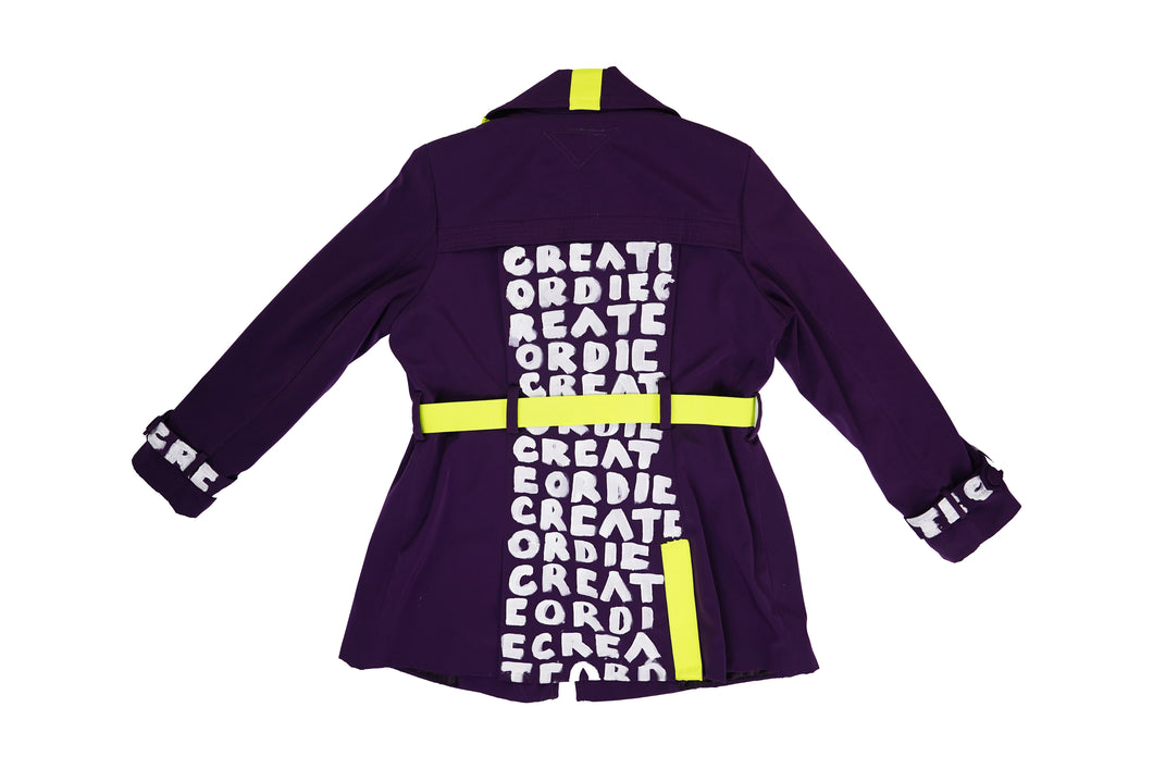 CREATE OR DIE™ Purple Trench