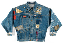 Load image into Gallery viewer, Drippin' Alchemy Denim Jacket