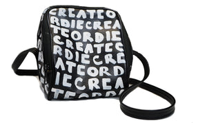 Create Or Die Cube Bag