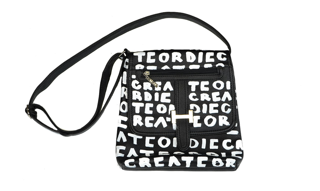 Create Or Die Large Shoulder Bag