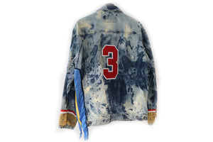 Divine Stamp Denim Jacket