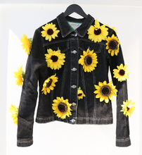 Load image into Gallery viewer, HAPPY Denim Jacket
