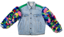 Load image into Gallery viewer, Color Outside Denim Jacket - sample sale