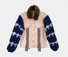 "Load image into Gallery viewer, "" MICA RAY ""  Custom Denim x Puffer Jacket - // SOLD //"
