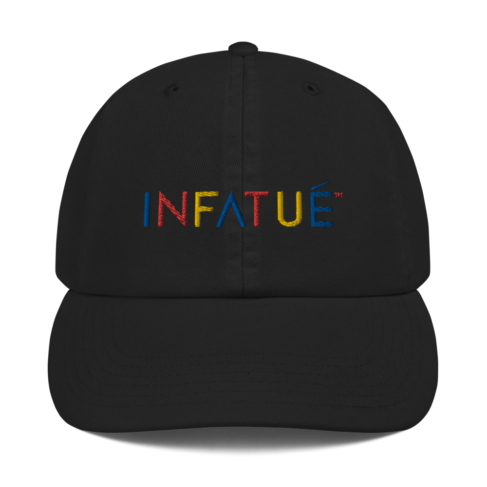 INFATUÉ in Primary Colors Champion Dad Hat