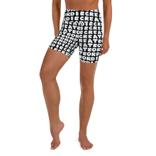 Load image into Gallery viewer, Create or Die Yoga Shorts