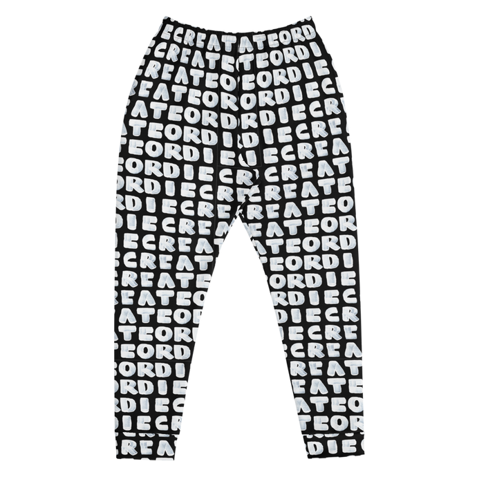 Create Or Die Men's Joggers