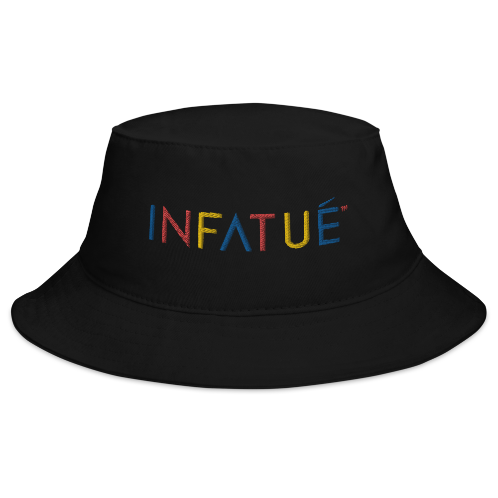 INFATUÉ Bucket Hat in Primary Colors