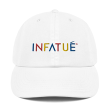 Load image into Gallery viewer, INFATUÉ in Primary Colors Champion Dad Hat