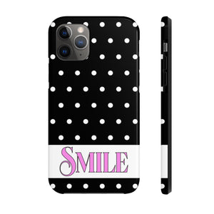 SMILE - Polka Dot Phone Case