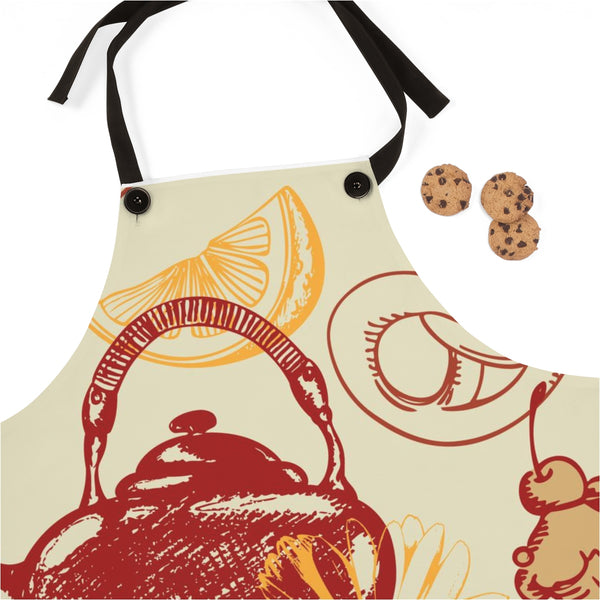 Afternoon Tea Time Apron