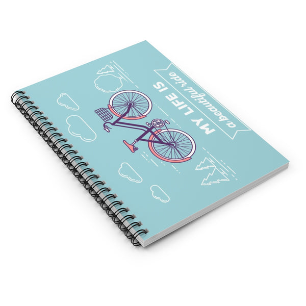 My Life Spiral Notebook - Ruled Line