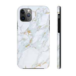 White Marble Phone Case