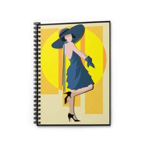 Paris Collection Spiral Notebook - Ruled Line