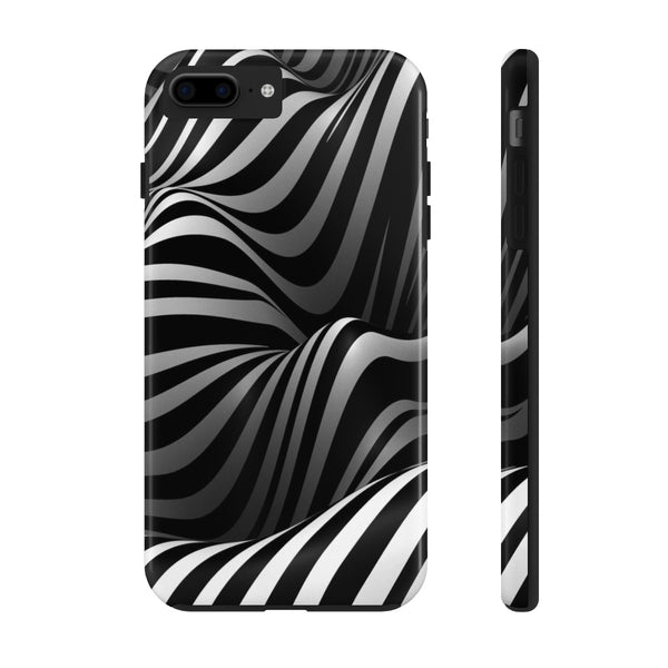 3D Zebra Print - Phone Case