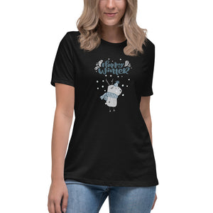 Happy Winter - Women's Relaxed T-Shirt - My Mom and I Collection