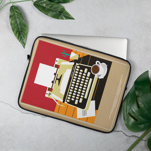 Old fashion Typewriter Laptop Sleeve - 15 in