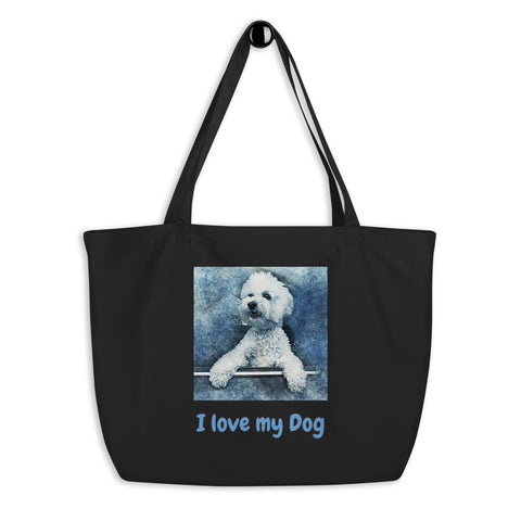 PERSONALIZE What you Love - Large Organic Tote bag