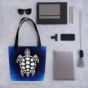 Abstract Turtle Tote bag