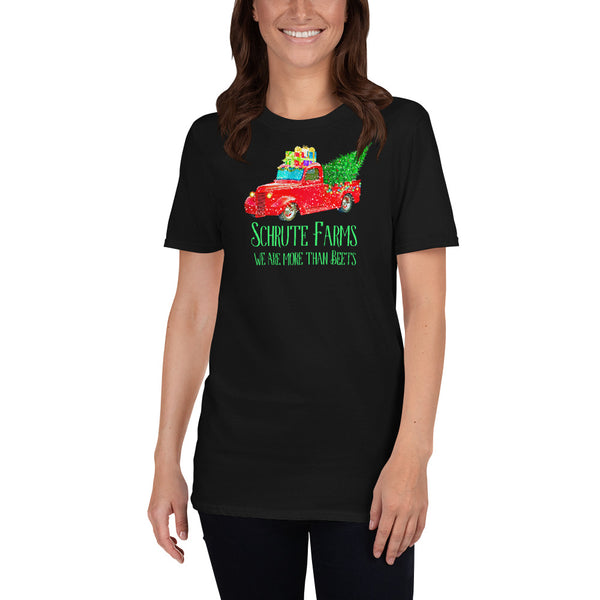 Schrute Farms Christmas Trees - Short-Sleeve Unisex T-Shirt