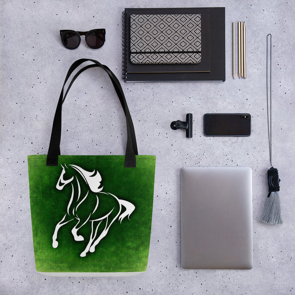 Abstract Wild Horse Tote bag