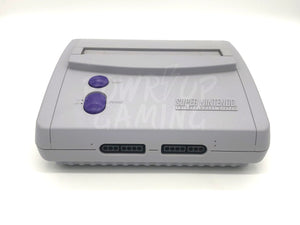 Super Nintendo Jr. Console Premodded with RGB Bypass and Svideo