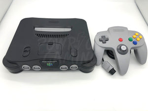 Nintendo 64 Premodded with Tim Worthington's RGB v1.2 with DeBlur Switch