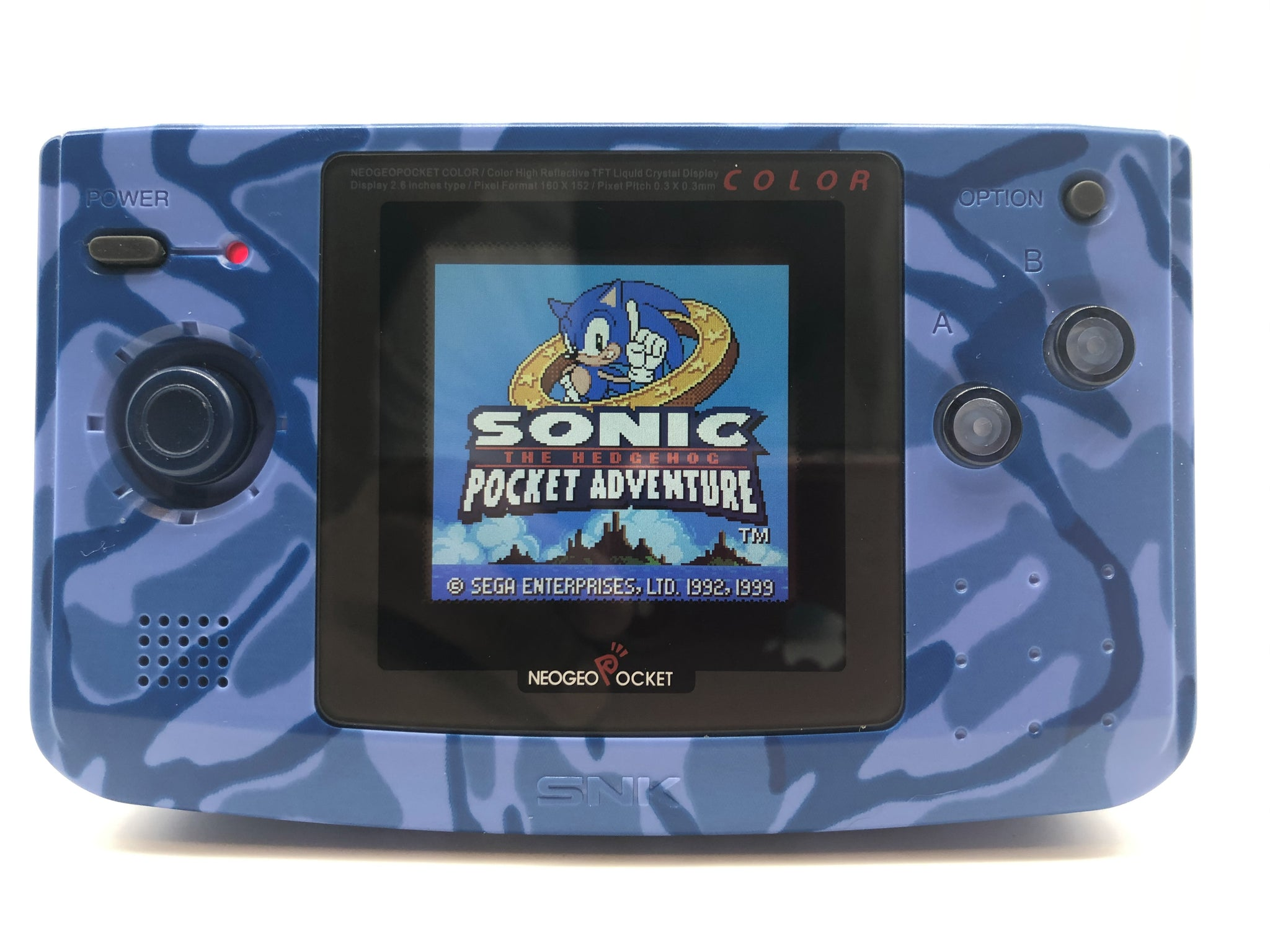 Neo Geo Pocket Color Backlit LCD Mod Services