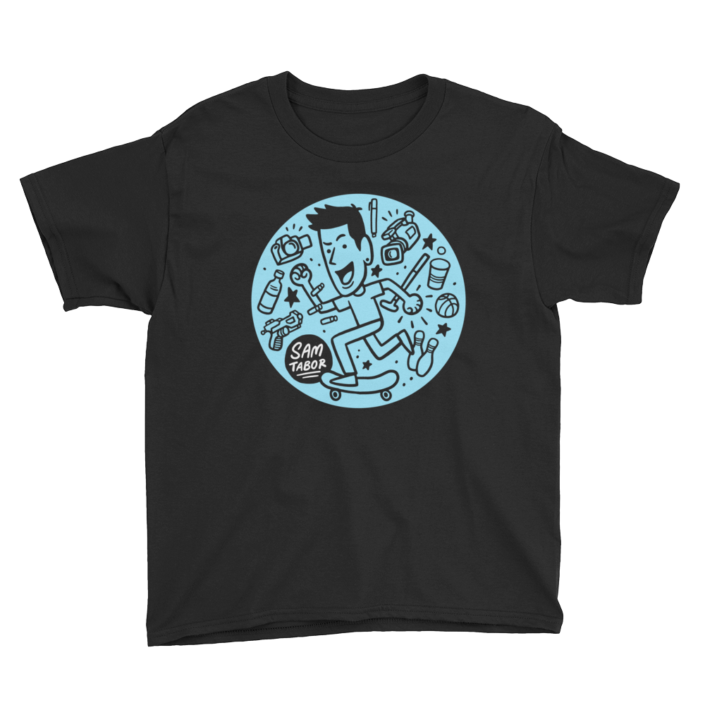 Youth Trick Shot Tee