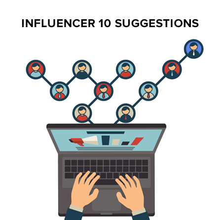 Choose 10 Influencers For You To Use