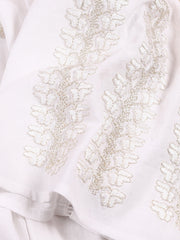 'I Love You' Blouse - White-Colored Fabric-FLORII-