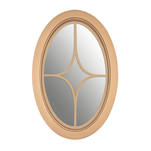 Clear Oval Window with Diamond Design Grille