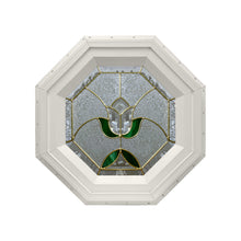 Tulip Stationary Octagon Window Beige