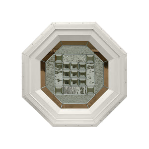 Park Avenue Stationary Octagon Window Beige