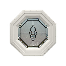 Verona Stationary Octagon Window Beige