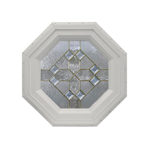8-Diamond Octagon Window Clay