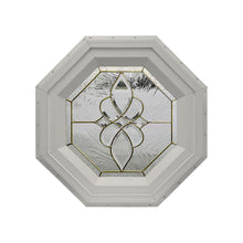 Taj Stationary Octagon Window Clay
