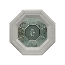 GC Hummingbird Stationary Octagon Window with Zinc Caming Clay